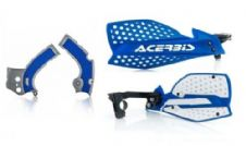 New Acerbis Frame Cover X-Grip YZF 250 450 16-18 X Ultimate HandGuards BLU SIL